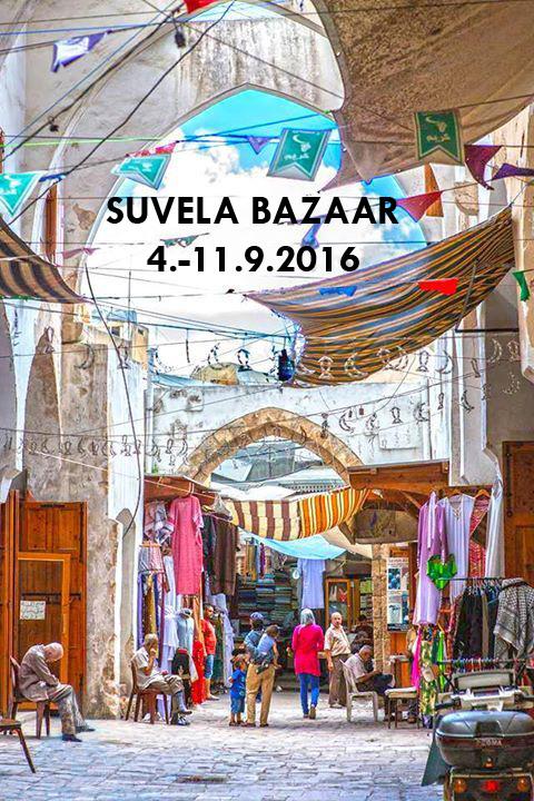 The flyer of the Suvela Bazaar in 2016.
